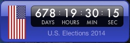 US Election Widget Front